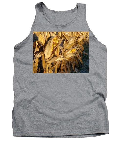 Tank Top featuring the photograph Golden Corn by Joseph Skompski