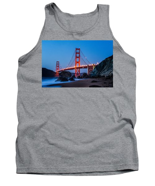 Golden Gate At Twilight Tank Top