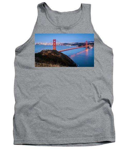 Golden Gate Bridge Tank Top by Mihai Andritoiu