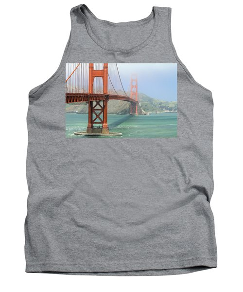 Tank Top featuring the photograph Golden Gate by Steven Bateson
