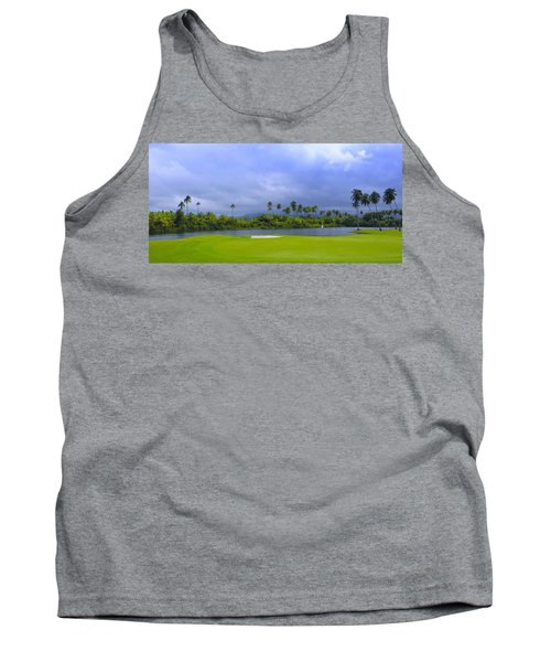 Golfer's Paradise Tank Top by Stephen Anderson