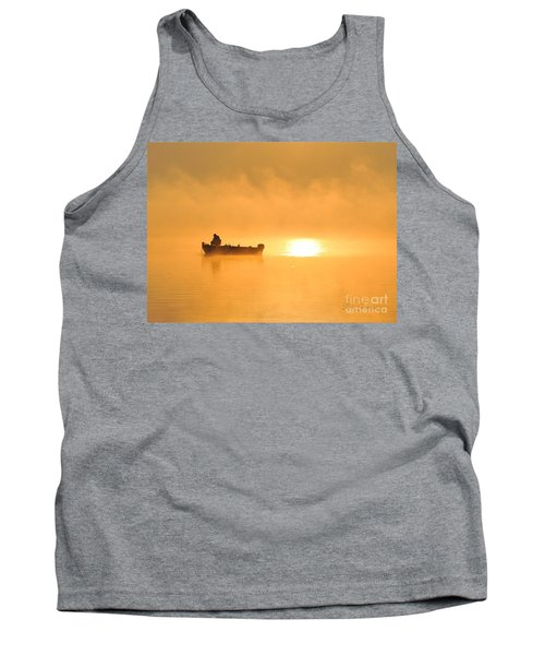Tank Top featuring the photograph Gone Fishing by Terri Gostola