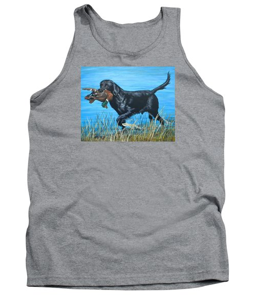 Good Dog Tank Top by Jeanette Jarmon