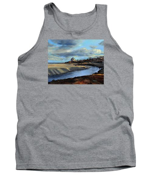 Good Harbor Beach Gloucester Tank Top by Eileen Patten Oliver