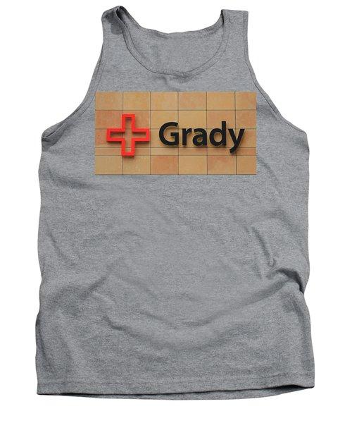 Grady Hospital Atlanta Georgia Art Tank Top