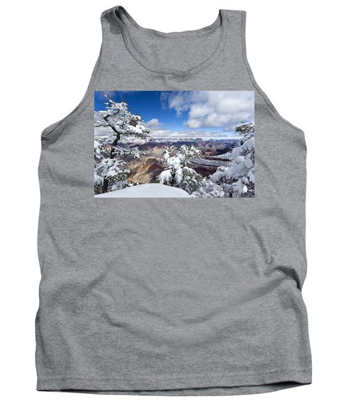 Grand Canyon Winter - 1 Tank Top