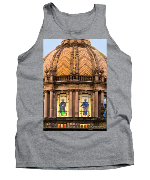 Tank Top featuring the photograph Grand Cathedral Of Guadalajara by David Perry Lawrence