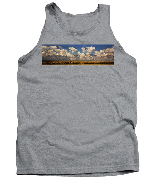 Tank Top featuring the photograph Grand Tetons by Sonya Lang