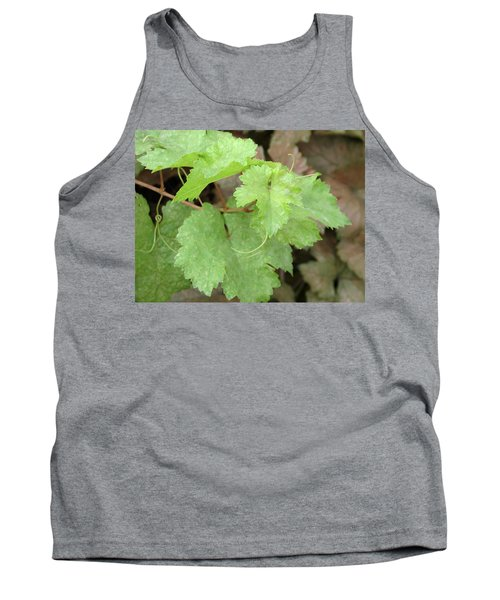 Tank Top featuring the photograph Grapevine by Laurel Powell