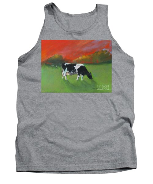 Grazing Cow Tank Top