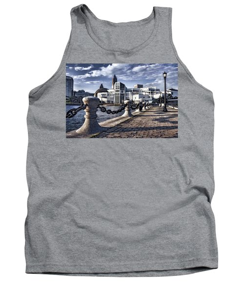 Tank Top featuring the photograph Great Lakes Science Center - Cleveland Ohio - 1 by Mark Madere