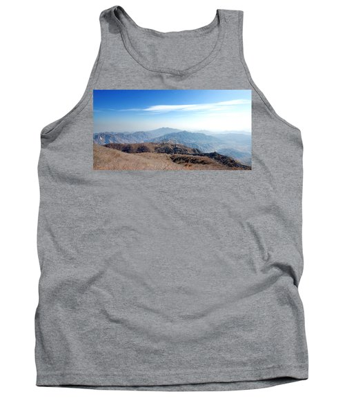 Tank Top featuring the photograph Great Wall Of China - Mutianyu by Yew Kwang