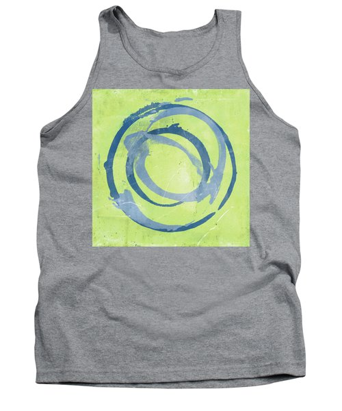 Green Blue Tank Top