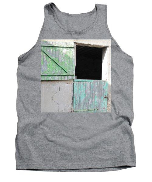 Green Stable Door Tank Top