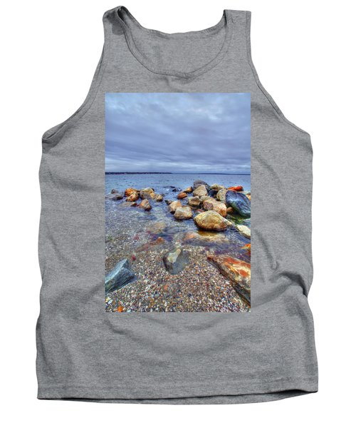 Tank Top featuring the photograph Greenwich Bay by Alex Grichenko