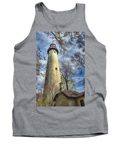 Grosse Point Lighthouse Color Tank Top