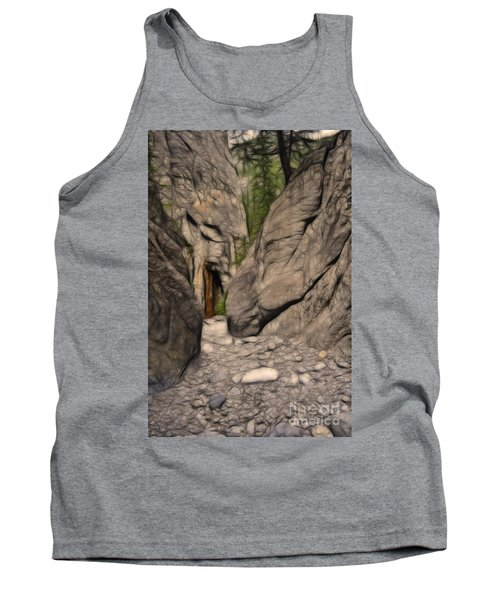 Grotto Canyon Fractal Tank Top