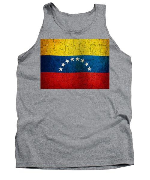 Grunge Venezuela Flag Tank Top