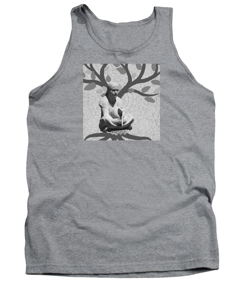 Tank Top featuring the photograph Guardian Of The Tree Of Life by I'ina Van Lawick