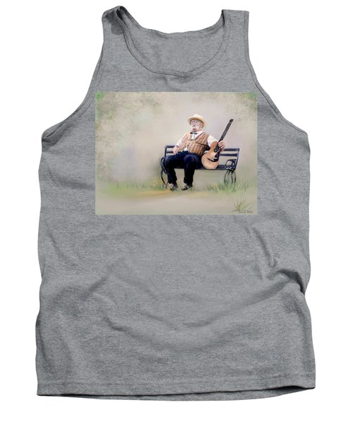 Guitar Man Tank Top