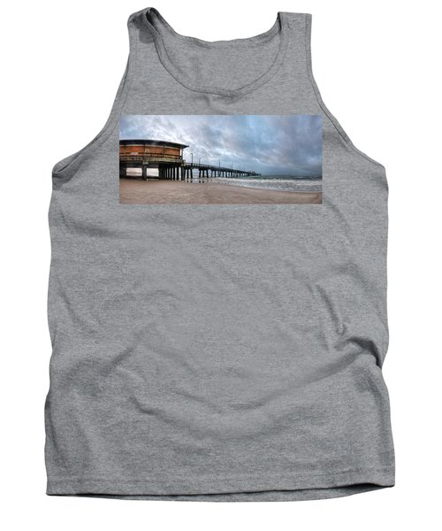 Gulf State Pier Tank Top by Michael Thomas