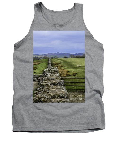 Hadrian's Wall Tank Top by Mary Carol Story