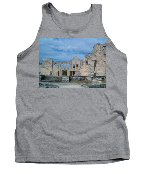 Tank Top featuring the photograph Haha Tonka Castle 1 by Sara  Raber