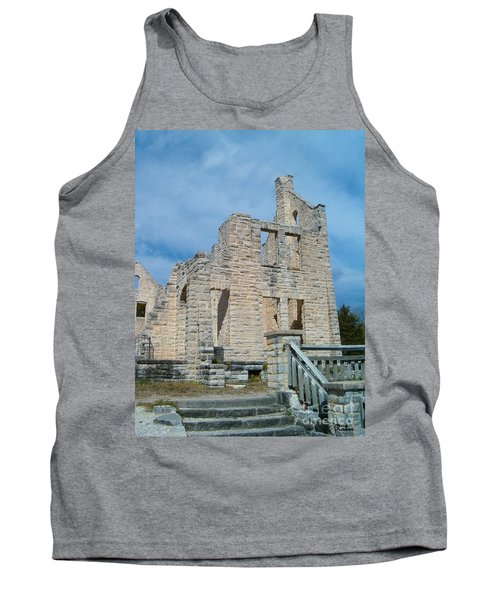 Tank Top featuring the photograph Haha Tonka Castle 2 by Sara  Raber