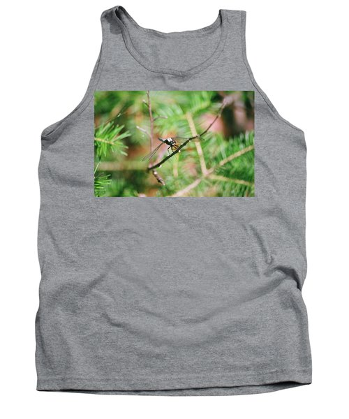 Tank Top featuring the photograph Hangin' Out by David Porteus