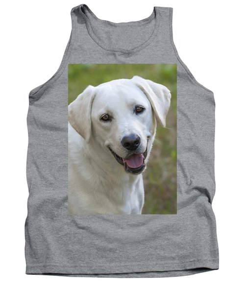 Happy Lab Tank Top by Stephen Anderson