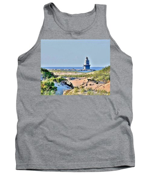 Harbor Of Refuge Lighthouse Tank Top