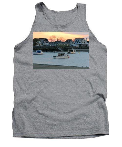 Harbor Sunset Tank Top by Denyse Duhaime