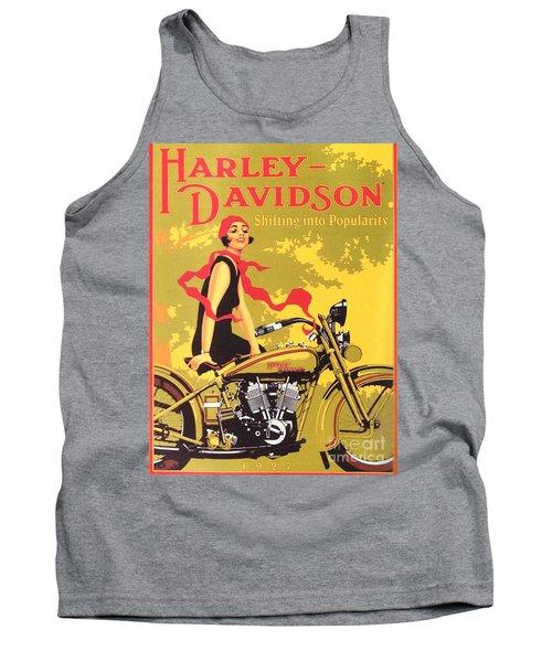 Harley Davidson 1927 Poster Tank Top