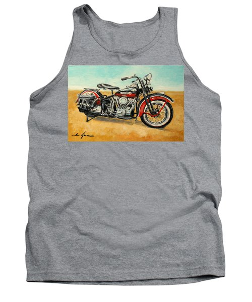 Harley Davidson Panhead Tank Top