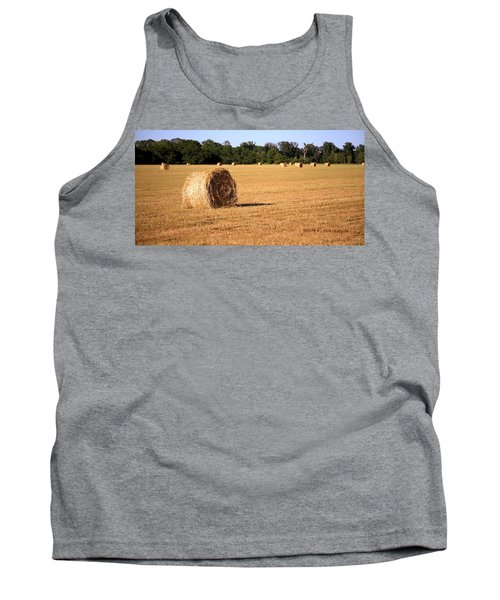 Tank Top featuring the photograph Harvest Time by Gordon Elwell