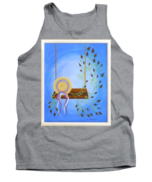 Hat On A Swing Tank Top