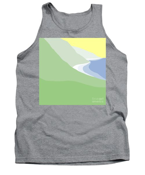 Hazy Coastline Tank Top
