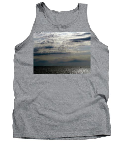 Hdr Storm Over The Water  Tank Top by Joseph Baril