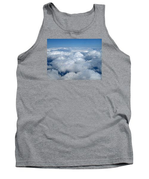 Head In The Clouds Art Prints Tank Top by Valerie Garner