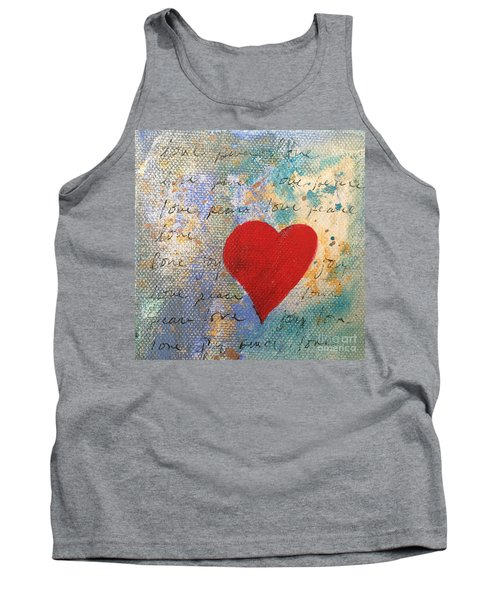 Heart #9 Tank Top