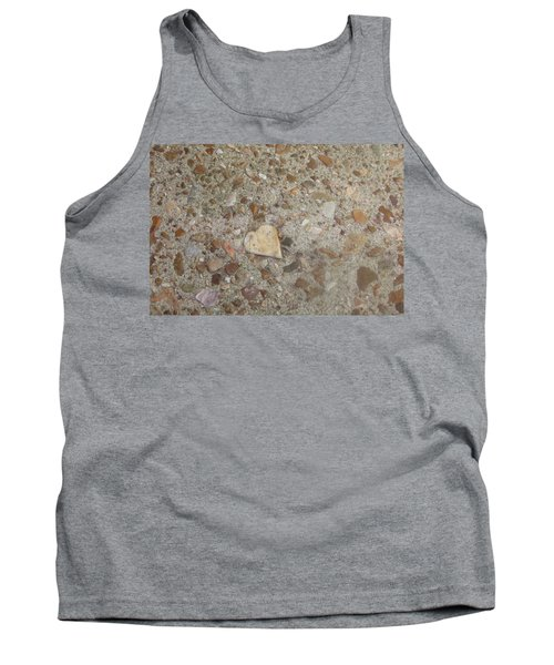 Tank Top featuring the photograph Heart Of Stone by Fortunate Findings Shirley Dickerson