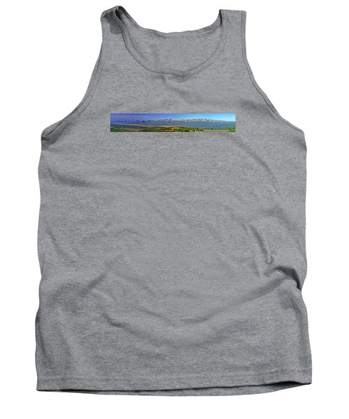 Heart Of The Sawatch Panoramic Tank Top by Jeremy Rhoades