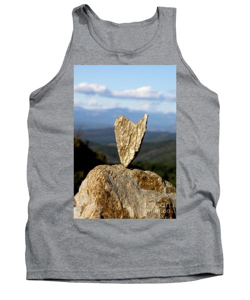 Heart On A Journey Tank Top by Lainie Wrightson