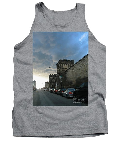 Heavy Weather Over Eastern State Tank Top
