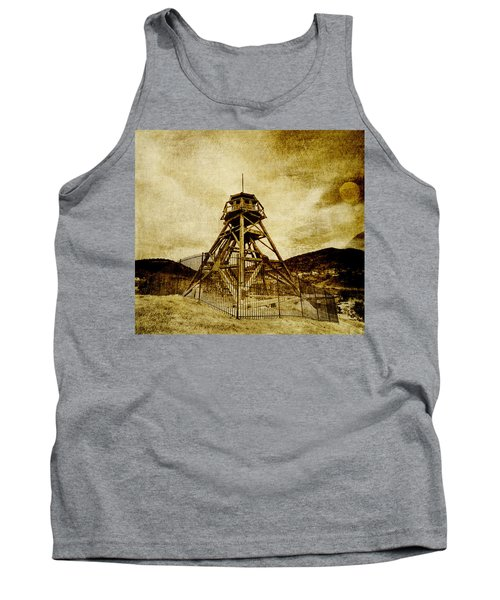 Helena-montana-fire Tower Tank Top