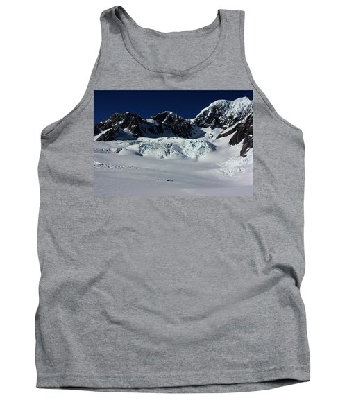 Tank Top featuring the photograph Helicopter New Zealand  by Amanda Stadther