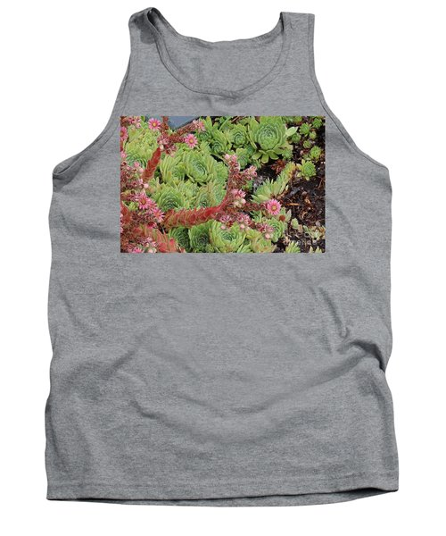 Hen And Chick In Bloom Tank Top