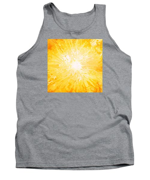 Here Comes The Sun Tank Top by Kume Bryant