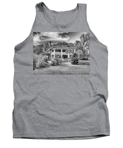 Tank Top featuring the photograph Herlong Mansion by Howard Salmon