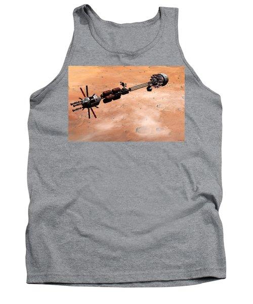 Hermes1 Over Mars Tank Top